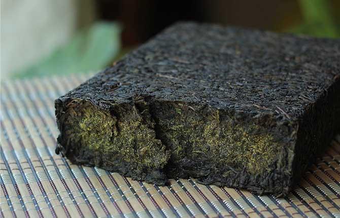 Healthy good taste brick slimming dark tea