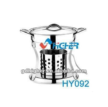 stainless steel Personality Round Buffet Stove