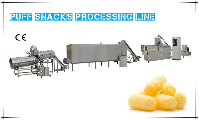 Food Extrusion Machine Line Plant