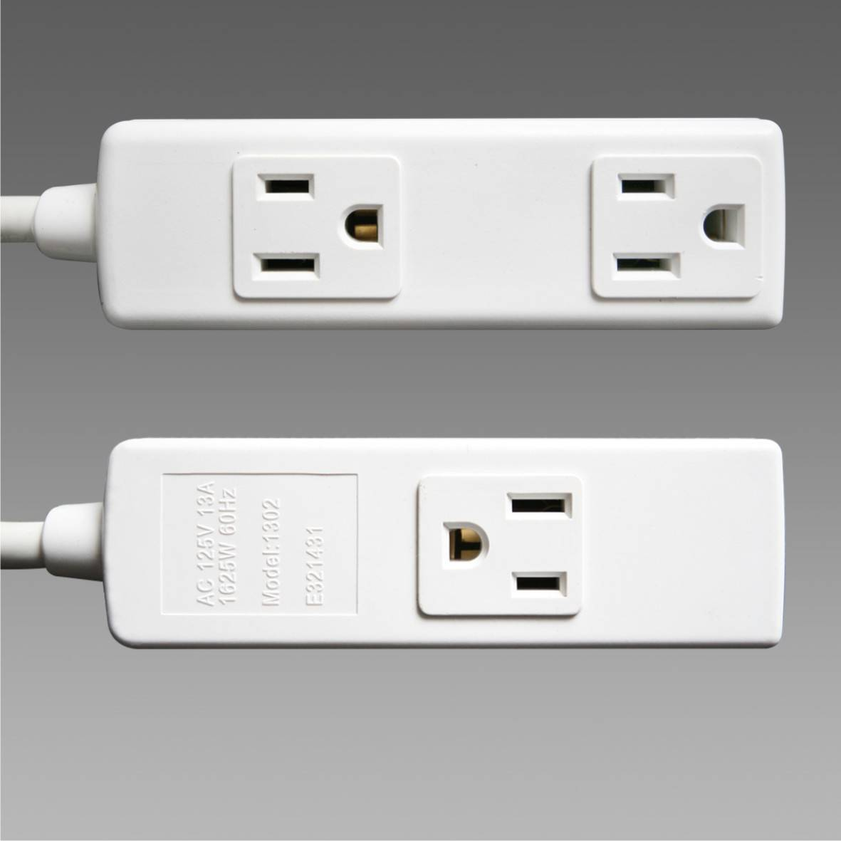 UL approved 3 outlets socket
