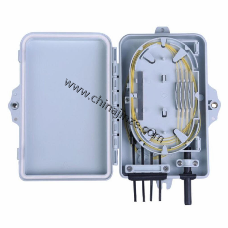 4 core fiber optic distribution box With Pigtails