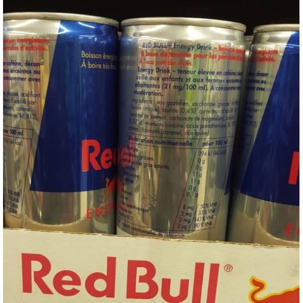 RED BULL ENERGY DRINK (AUSTRIAN ORIGIN)
