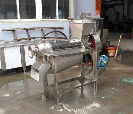 full stainless steel screw fruit juice extracting machine