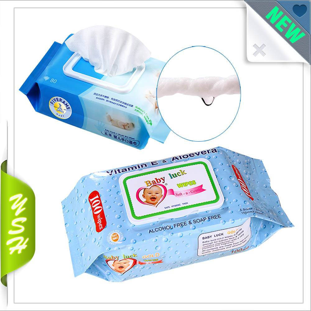 Personal care wipes packaging bags for baby wipes