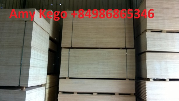 Plywood for Furniture with 100% Hardwood core veneer from Vietnam