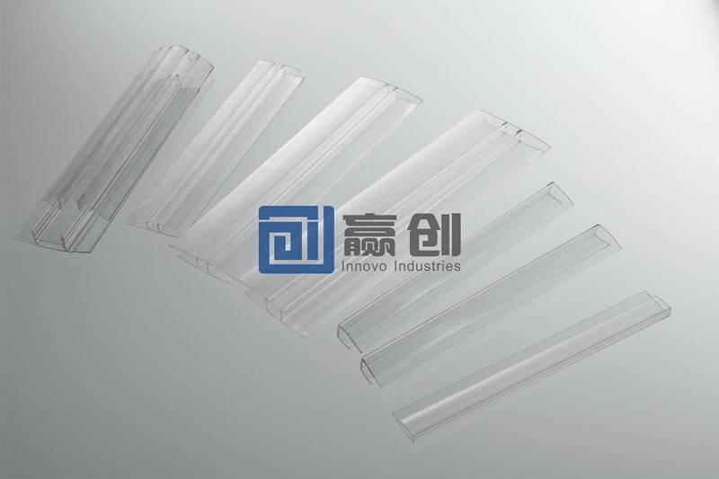Aluminum Strips for PC Sheet Installation