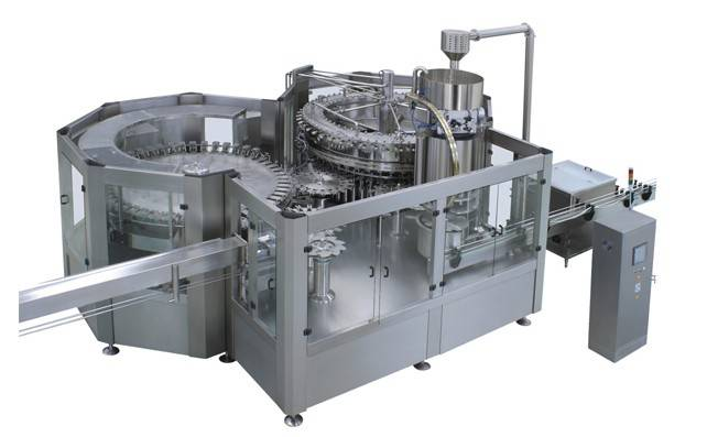 CGF80-80-18D 34000B/H Washing Filling Capping Machine (3-in-1)