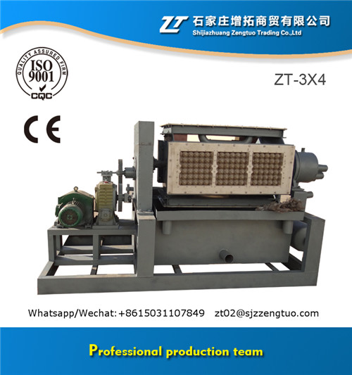 Professional pulp molding machine make egg tray