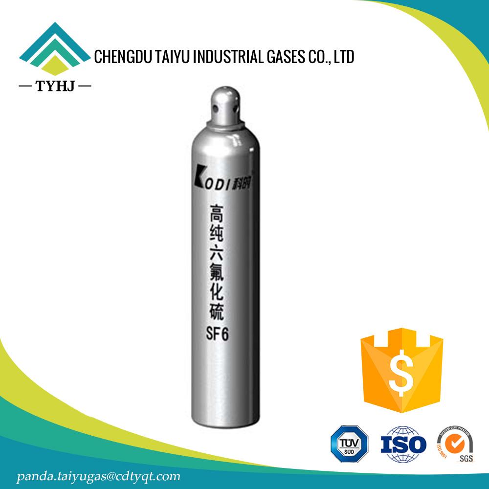 Sulfur Hexafluoride SF6 Gas 5NManufacturer