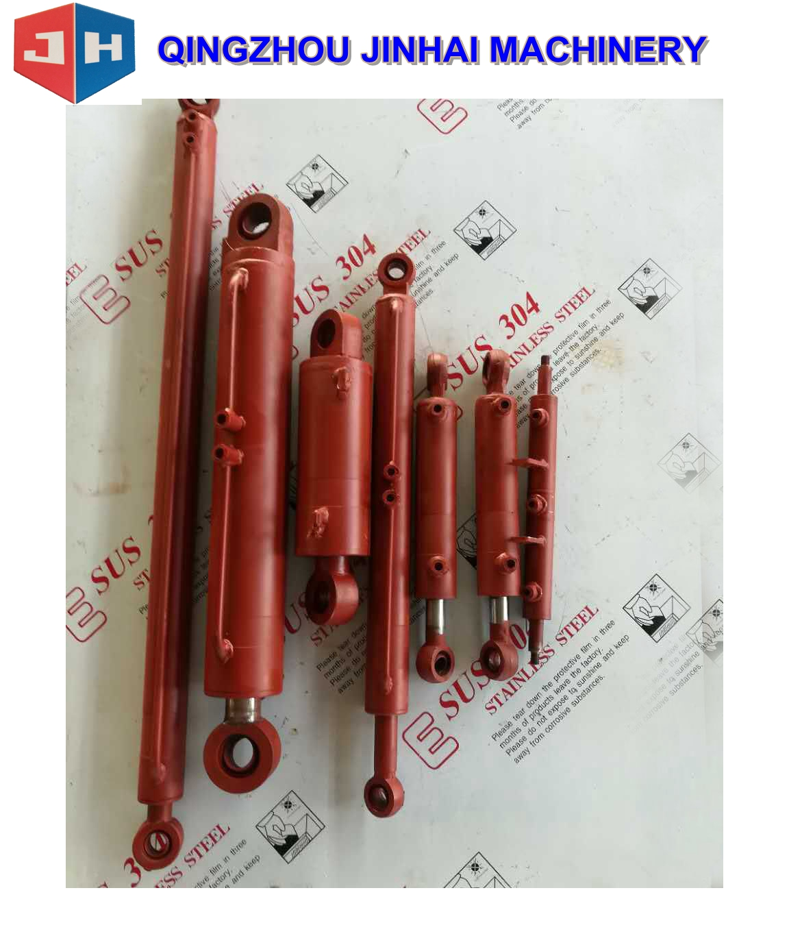 Customized Hydraulic Cylinder For Construction
