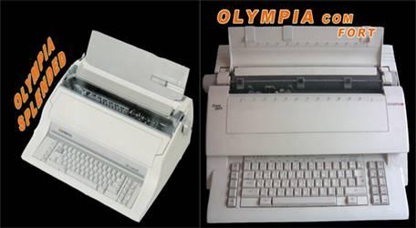 Electronic Typewriter DUBAI Arabic  English Typewriter Dubai A4 A3 B4 Olympia Consulta Comfort Adler