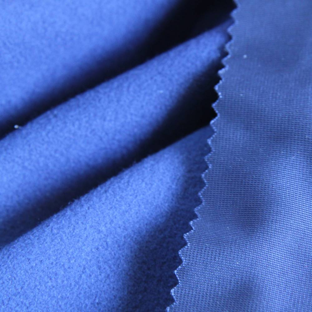 100% Polyester Warp Knitted Tricot Brush fabric