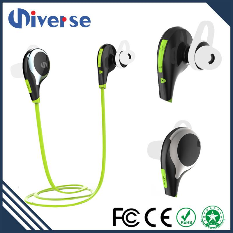 2016 new arrival wireless bluetooth earphone for iphone samsung