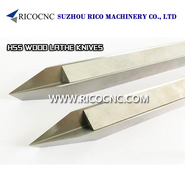 High Speed Steels V Cutter HSS Woodturning CNC Lathe Knife Turning Tools
