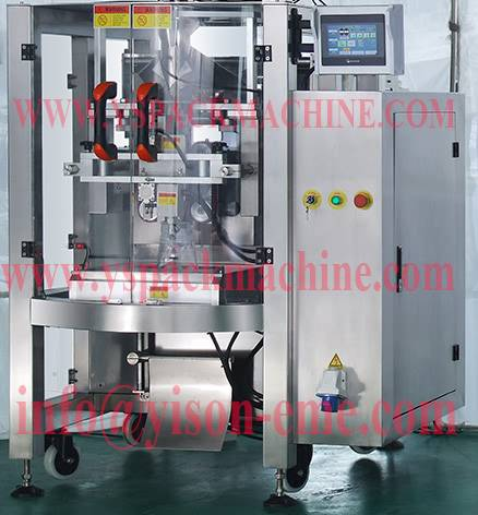 Servos Driven Food packaging machine made in china