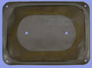 Diaphragm for gas meter