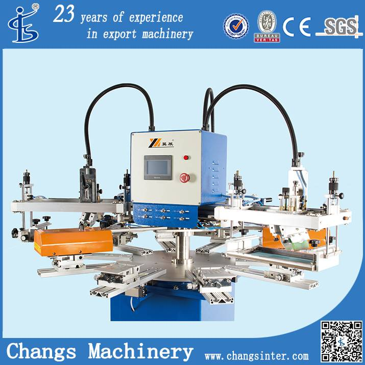 SPF Mini Automatic Screen Printing Machine