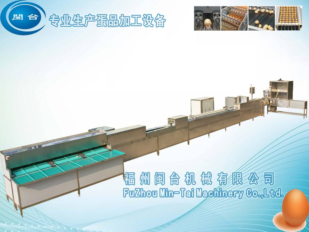 Automatic cleaning and grading machine for egg products