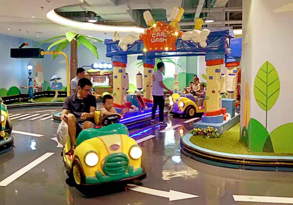 2017 New Design Educational Amusement Rides---Car Town
