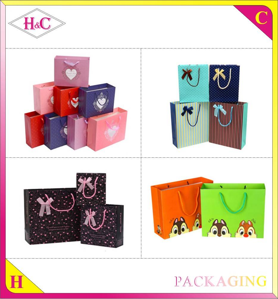 Manufacture Custom Fashion Handmade Advertising Promotional Shopping Bag
