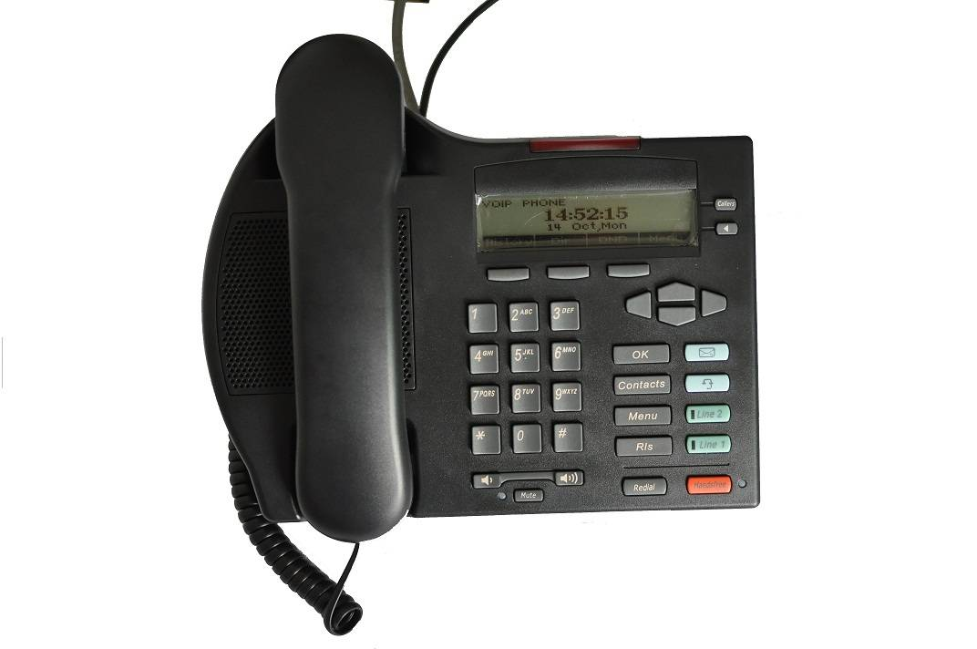 SIP VoIP Phone with PoE, IAX2
