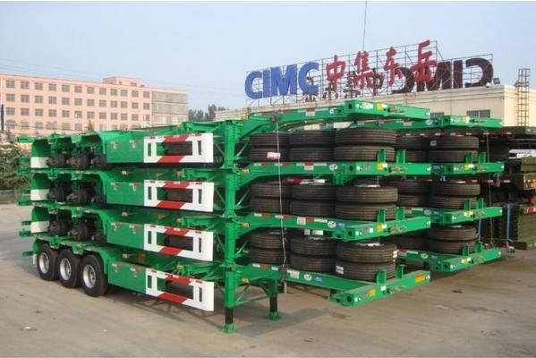 CIMC Skeleton Container semi trailer
