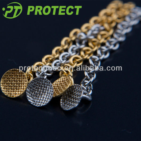 Orthodontic dental golden Button Chain equipments for sale