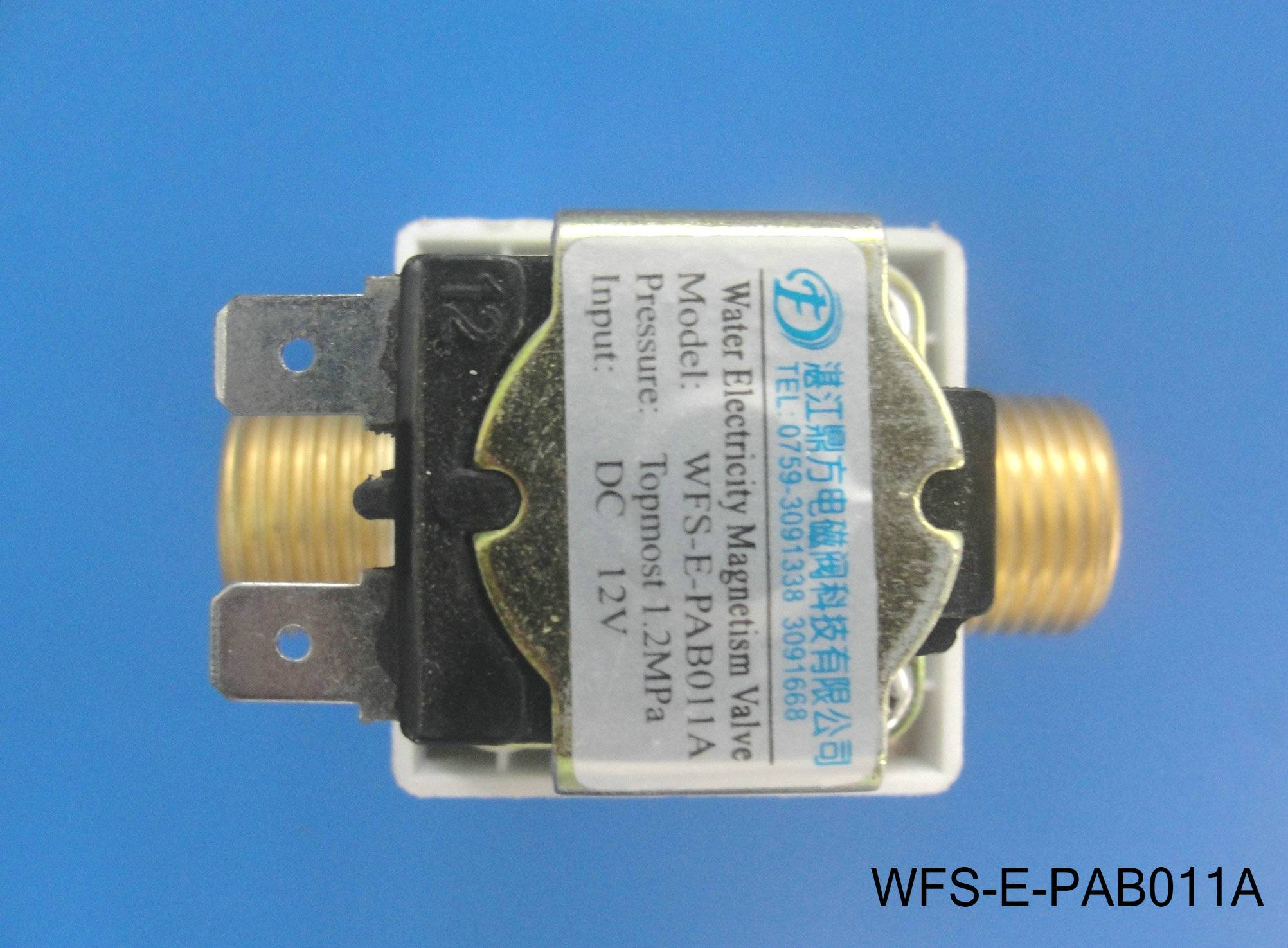 High temperature resistant plastic solenoid valve WFS-E-PAB011A