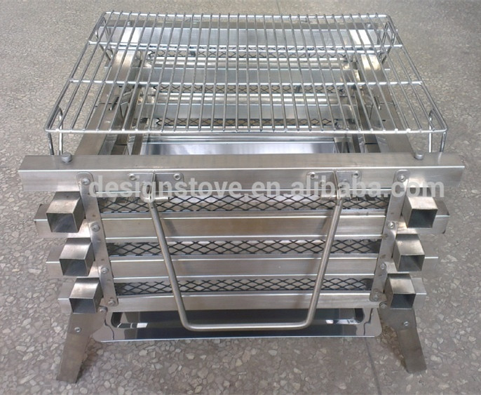 Picnic time bbq charcoal grill made in China