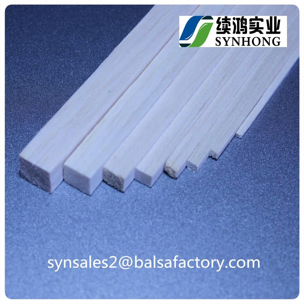 Light Balsa Wood Strips Sticks