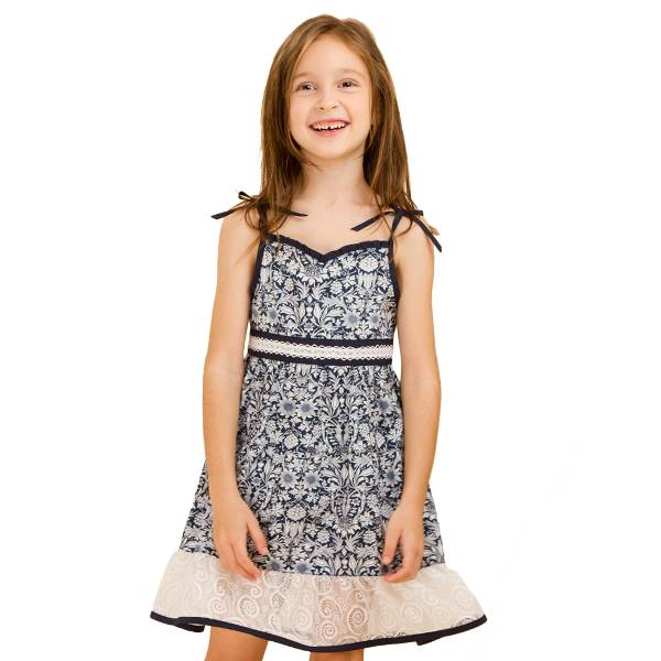 2013 girls dress,summer Spaghetti Strap dress with Vintage printing