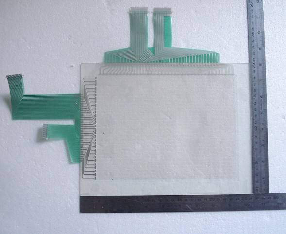 Capacitive screen panel membrane swith lcd display panel