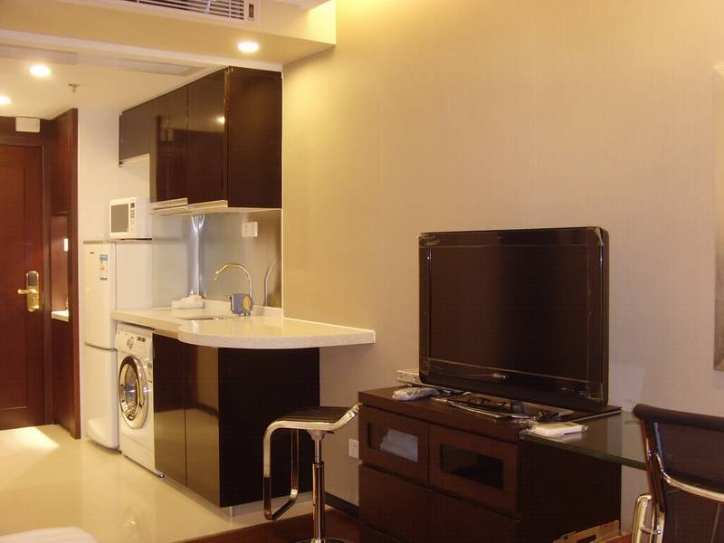 New Pearl River shore, nice hotel apartment for short term rental