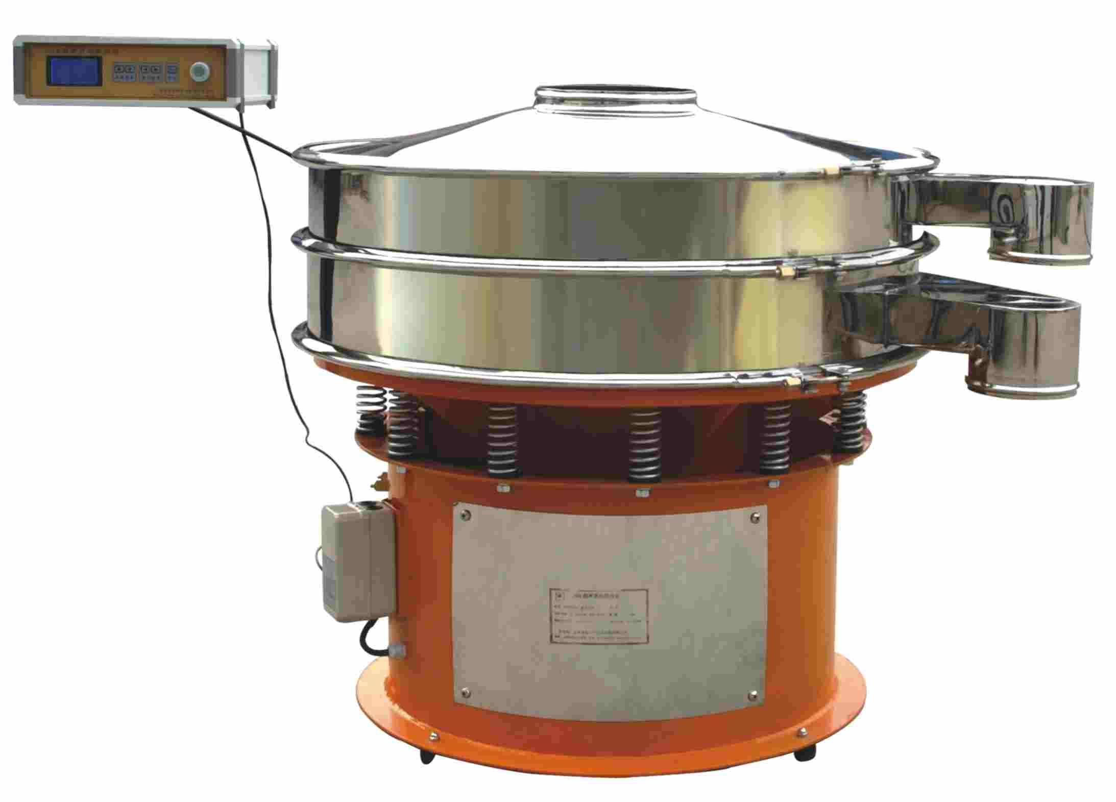 high efficiency ultrasonic vibrating screen machine for Polyethylene powder