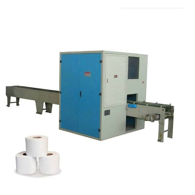 XY-AI-280 High Speed Full Automatic Small Toilet Paper Roll Cutting Machine