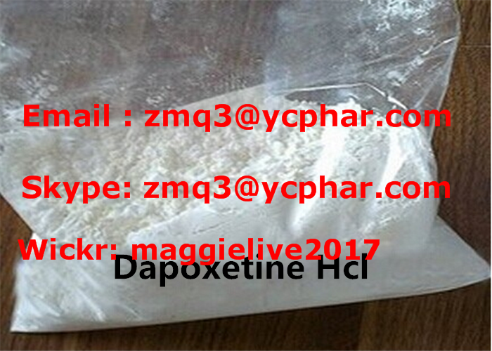 Dapoxetine Hydrochloride Raw Materials For Pharmaceutical Industry CAS 119356-77-3