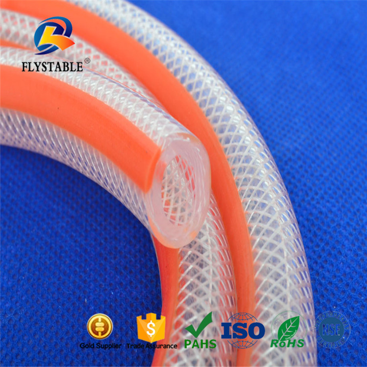 2'' Flexible & multi--colour PVC transparent soft hose