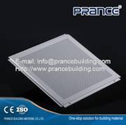 Environmental integrated aluminum ceiling