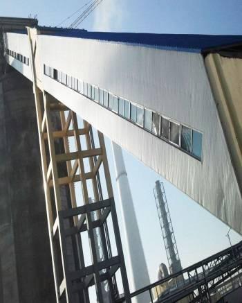big incline belt conveyor