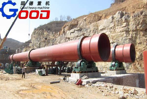 ISO9001:2008 zn recycling rotary waelz kiln for zn recycling