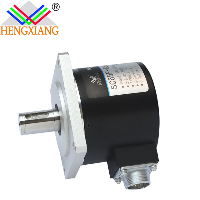 Hengxiang SC65F Flange Encoder Diameter 65mm Solid Shaft 15mm With Keyway