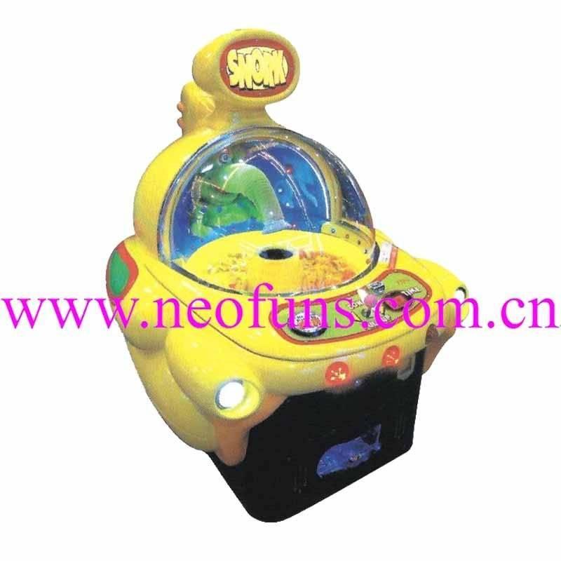 Snork amusement machine