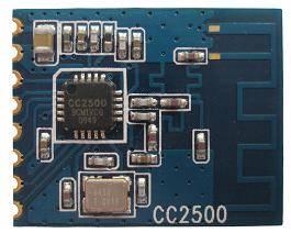 CC2500 2.4G  low power  high sensitivity  RF module