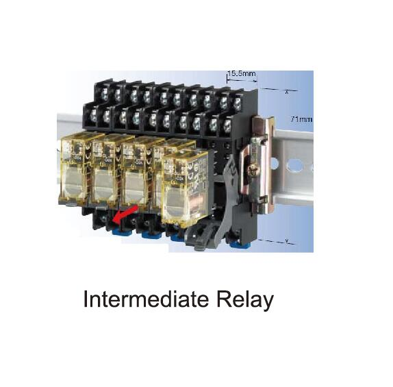 intermediate relay of mixing plant