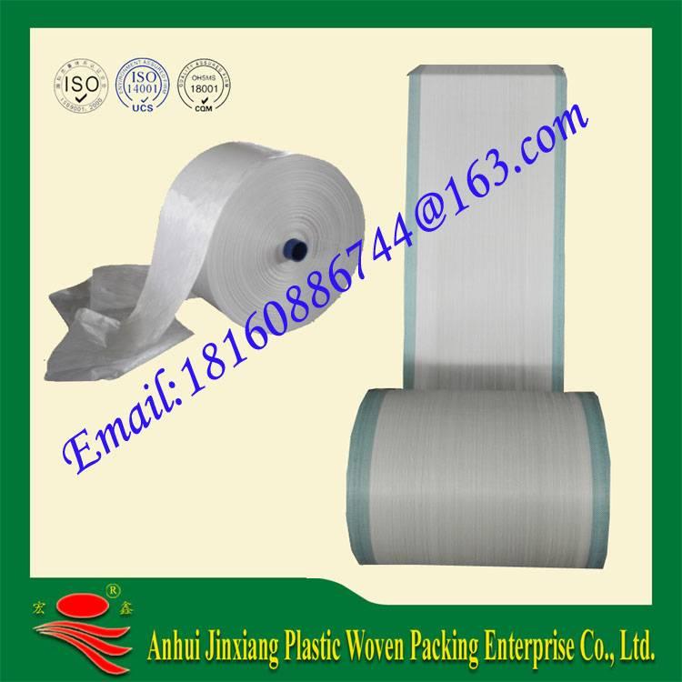 pp woven bag fabric rolls