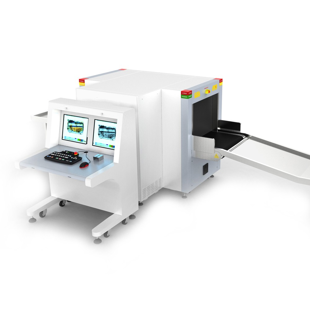 6550D Dual View X Ray Security Inspection Machine