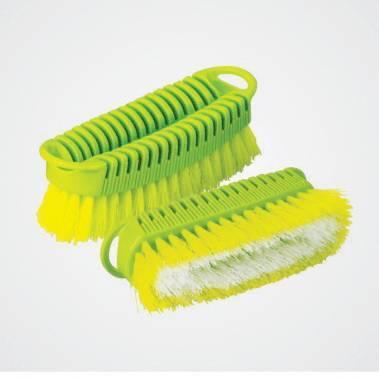 Plastic clothes brush mould