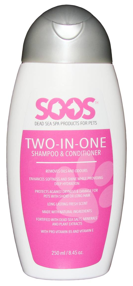 Two-In -One Shampoo & Conditioner