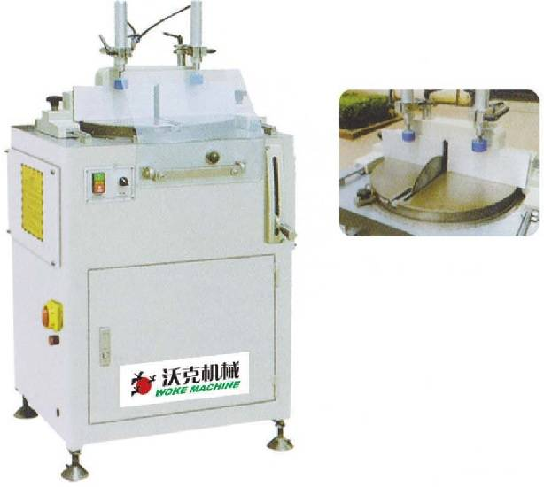 Aluminum profile one-head cutting saw(arbitrary angle)