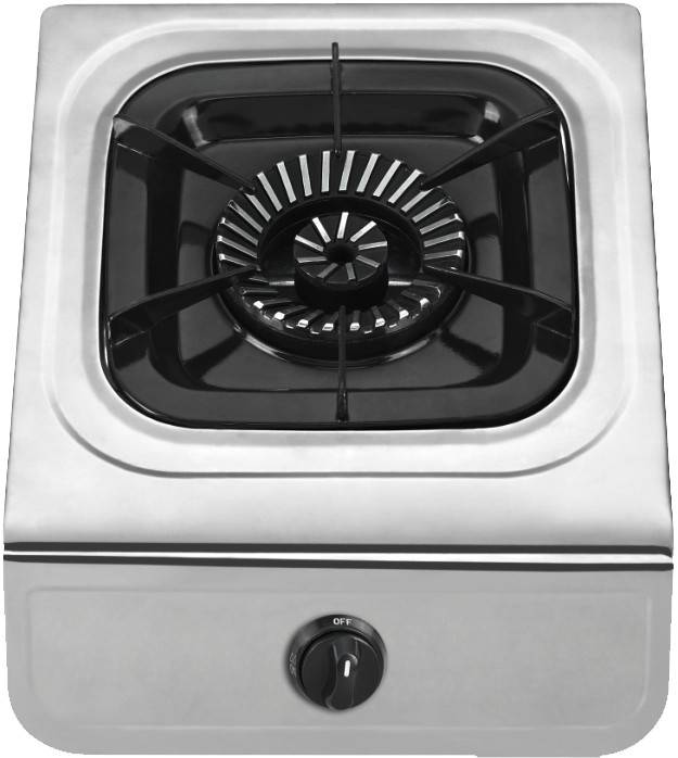 Stainless steel gas stove cooktop